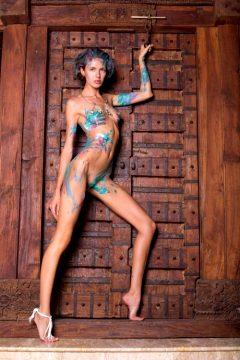 Alya Body Painting