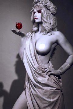 Ancient Greek Statue By Jannetincosplay