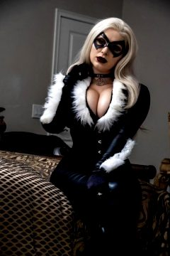 Black Cat By Lalascosplay