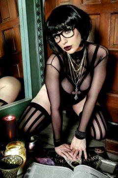 Boudoir Goth Velma By Jennifer Van Damsel