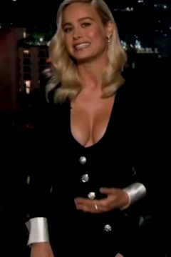 Brie Larson Hosting Jimmy Kimmel