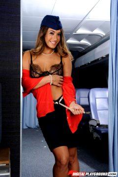 Eva Lovia – Sexy Stewardess