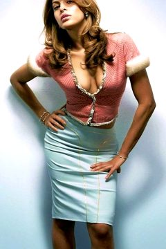 Eva Mendes In A Sexy Outfit