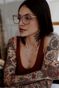 Glasses And Tattoos ❤️