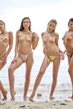 Hegre-art Ariel Marika Melena Maria Mira – Bikini Girls