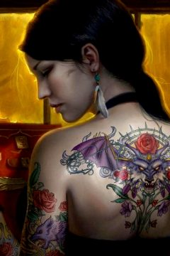 Hi Res Tattoo Girl