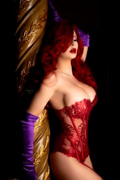 Ireland Reid As A Boudoir Jessica Rabbit