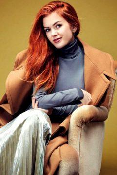 Isla Fisher. Glamour Magazine Mexico.