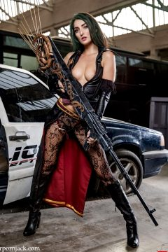 Katy Rose As Bullet Witch