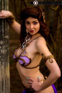 Lunarae As Slave Leia/Megara