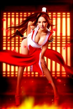 Mai Shiranui Cosplayed By Gui Jingjing