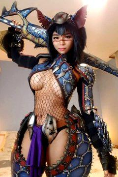 Nargacuga Armor By Otohime Nami