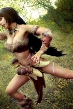Nidalee From League Of Legends- By Kate Key
