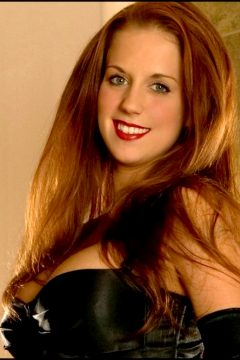 Persephone Neece – Ravishing Redhead In A Kinky Black Outfit – Set One For Cpliso Family Friends And Redhead Fans Everyw
