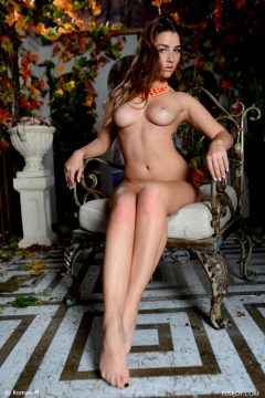 Photoset Nudity Brunette