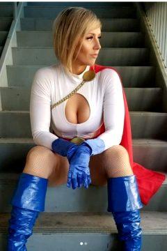 Power Girl By Russianpg
