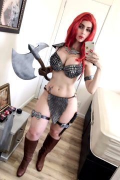 Red Sonja By Adami Langley