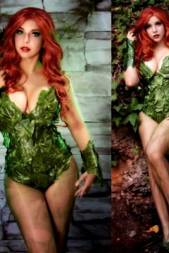 Shermie Cosplay — Poison Ivy