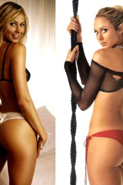 Stacy's Keibler's Nose.