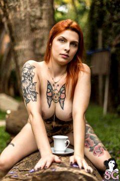 Suicidegirls Bordini – Coffee Time