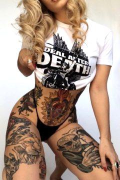 Tattoo Model © Pamela Davidsson.
