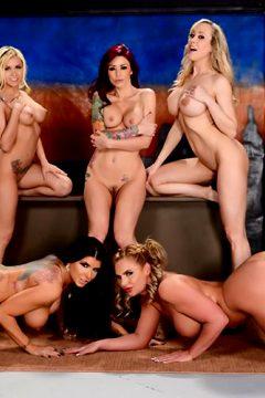 The Late Night Orgy Brandi Love, Marsha May, Monique Alexander, Phoenix Marie, Romi Rain Pornstars Like It Big