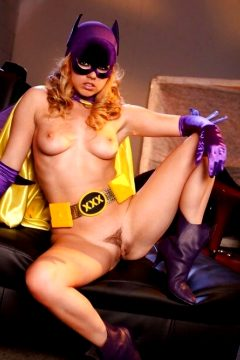 The very sexy Lexi Belle cosplaying one hot batgirl 6