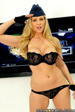 Tits Are Always The Solution – Julia Ann – Big Tits In Uniform
