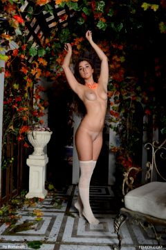 Trimmed Bush Brunette Femjoy