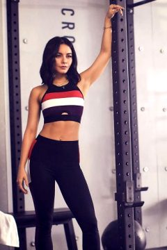 Vanessa Hudgens Intimidating The Men At Her Gym