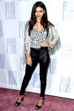 Victoria Justice Attends 2019 Rom Con Fest Los Angeles Screening Of Summer Night In Los Angeles 06/21/19