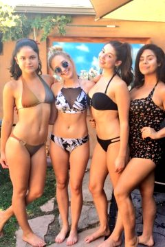 Victoria Moroles, Audrey Whitby, Kira Kosarin And Jessica Marie Garcia