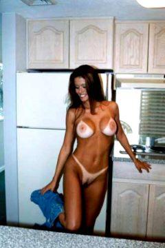 Vintage Naked Fit Girl