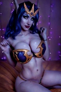 Void Elf By Azura Cosplay