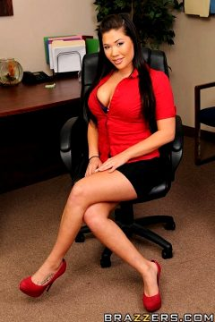 Who's Cumming With Me – London Keyes – Big Tits At Work