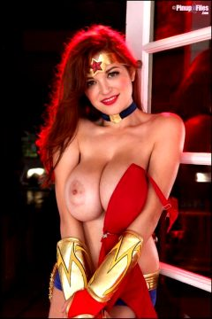 Wonder Woman By Tessa Fowler